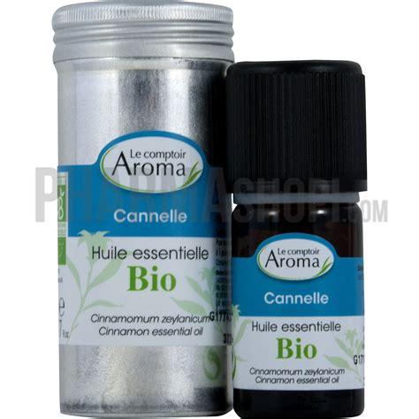 huile essentielle de cannelle le comptoir aroma flacon de 5 ml