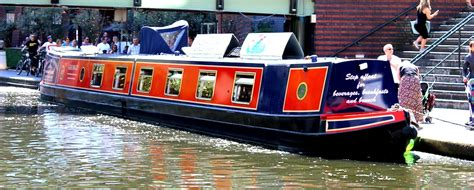 Party Boat Birmingham by Home Sherborne Wharf