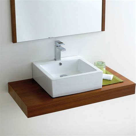 Sinks With Vanity Units by Phoenix Deep Square Counter Top Bathroom Basin Vb039 Uk