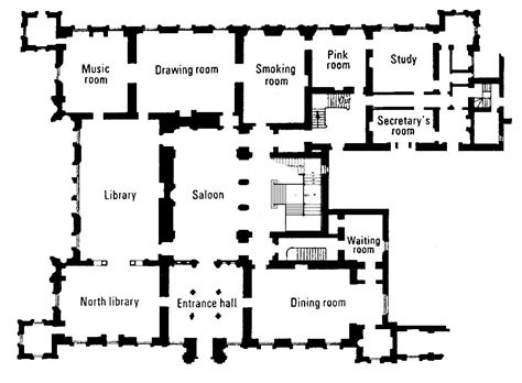 highclere castle floor plan the real downton