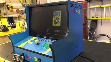pacade bartop arcade cabinet plans the pub