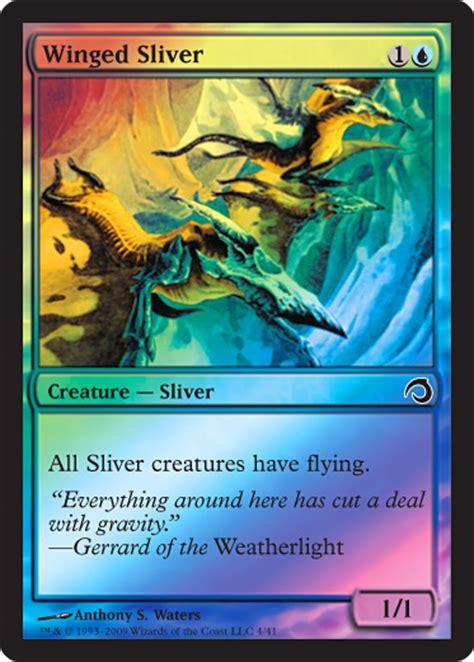 premium deck series slivers magic the gathering