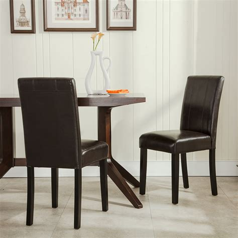 Elegant Modern Parsons Chair Leather Dining Living Room. Visual Comfort Chandelier. White Distressed Chandelier. Black Gutters. White Flowers. Pier One Counter Stools. Sub Zero Refrigerator Prices. American Heritage Bar Stools. Darboy Stone And Brick