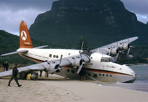 Flying Boat Movie by Lord Howe Island Flying Boat One Of The Survivor