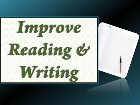 Improve Reading And Writing Skills Tutorial Youtube