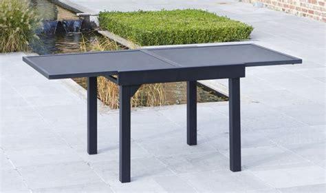table jardin verre avec rallonge