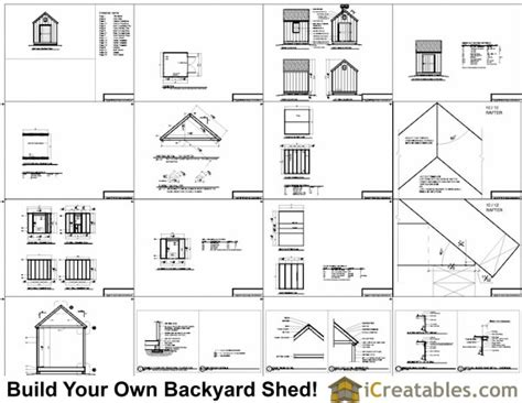 8x8 cape cod garden shed plans storage shed plans icreatables