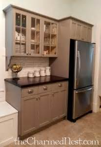 25 best ideas about chalk paint cabinets on