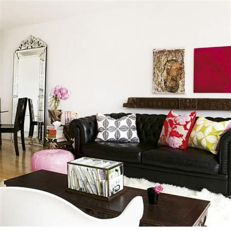 black leather sofa design decor photos pictures ideas black leather decorating ideas black