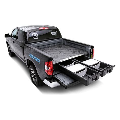 decked 174 chevy silverado crew cab cab regular cab 2015 2016 truck bed storage system