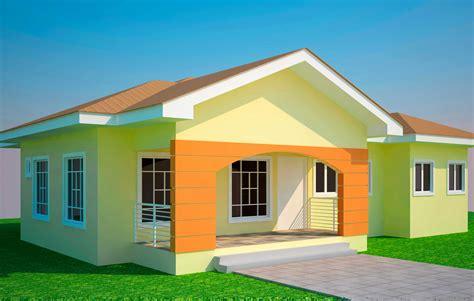 Front Base Model Affordable Split Modern Bungalow House