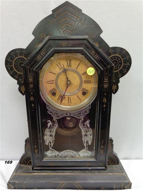 gilbert merl model mantle clock w key