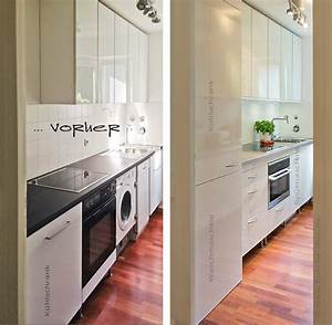 Stauraum Kleine Küche : wir renovieren ihre k che haushaltsger te austauschen und waschmaschine in k che integrieren ~ Markanthonyermac.com Haus und Dekorationen