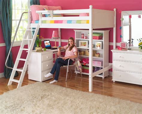 Easiest Choice Getting Girls Loft Beds For Saving Space In