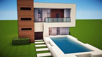 minecraft simple easy modern house tutorial how to build 19 minecraft building