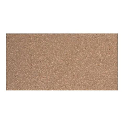 Daltile Quarry Tile Specifications by Daltile Quarry Adobe Brown 4 In X 8 In Ceramic Floor And