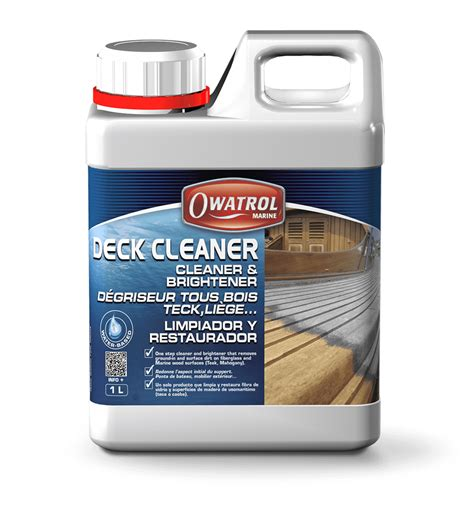 deck cleaner cleaner and brightener 28 images rocksolid wood cleaner brightener quickly and