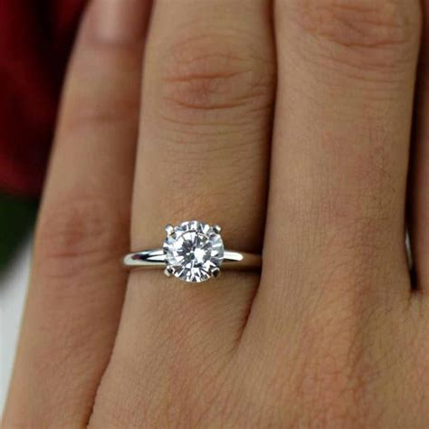 15 Ct 14k White Gold Ring, Classic Solitaire Ring. Step Engagement Rings. Fancy Wedding Rings. Jesus Piece Rings. 4 Band Engagement Rings. Goblin Wedding Rings. Microdermal Wedding Rings. Male Female Wedding Rings. Unt Rings