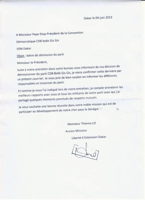 lettre de demission pompier lettre de motivation 2017