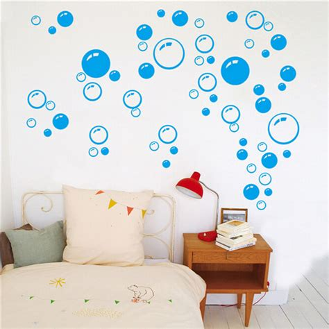 removable bubbles diy wall decal home decor wall