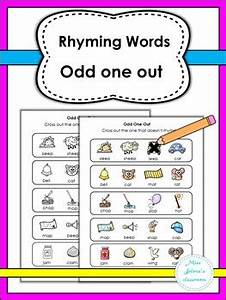 Find A Rhyme Rhyming Words Word Pictures And Worksheets ...