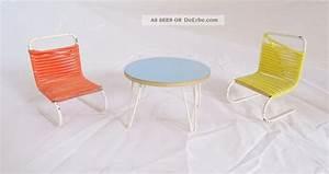 70er Jahre Möbel : 70er jahre puppenstube rarit ten m bel st hle mit tisch panton ra ~ Markanthonyermac.com Haus und Dekorationen