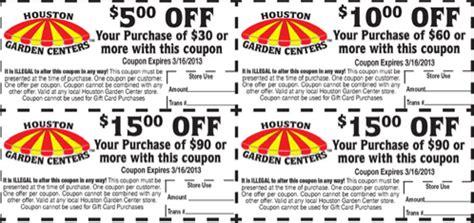 houston garden center free printable coupons