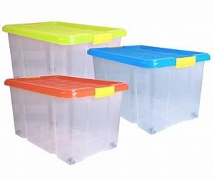 Aufbewahrungsboxen Kunststoff Mit Deckel : aufbewahrungsbox kunststoffbox mit deckel stapelbox versch farben 60x40x33 ebay ~ Markanthonyermac.com Haus und Dekorationen