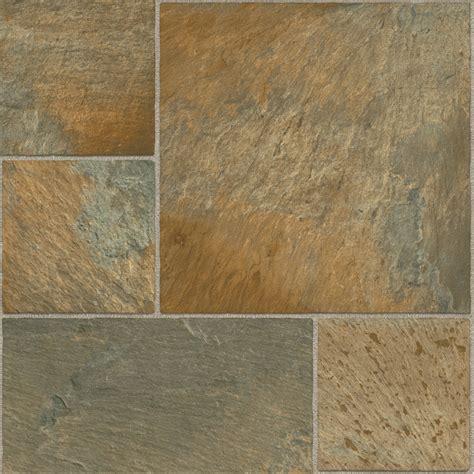 shop tarkett 12 ft w copper modular low gloss finish sheet