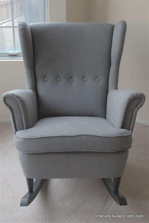 ikea hack strandmon rocker diy wingback rocking chair rocking chairs budgeting and nursery