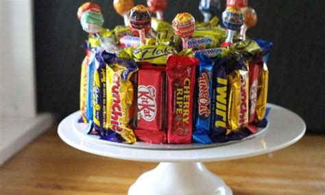 easy lolly birthday cake recipe kidspot