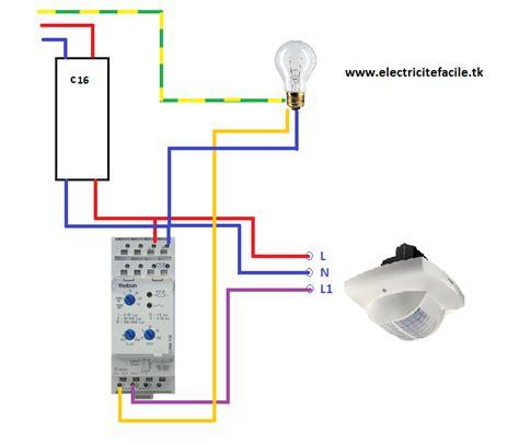 le interieur detecteur de mouvement 1 le branchement dun d233tecteur de pr233sence avec un