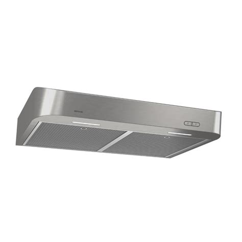 shop broan undercabinet range stainless steel