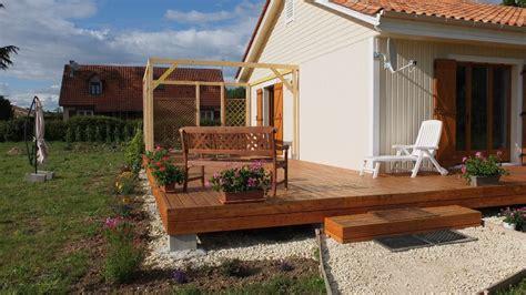 autoconstruction d une pergola en bois autoconstruction maison en ossature bois