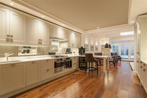 Kitchen Flooring Choices Explained And How Jfj Can Help Wall Accessories For Living Room Tan And Red Ideas Color Idea Walls The Dining Leigh On Sea Glass Display Cabinets Where To Place Recessed Lights In Round Swivel Chair Purple Brown
