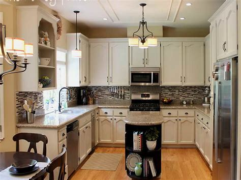 Small Kitchen Makeovers : Small Galley Kitchen Makeover Kitchens With