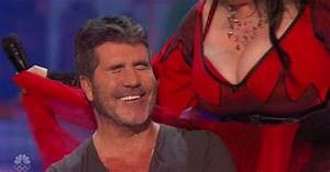 Simon Cowell gets an eyeful on America's Got Talent as a ...