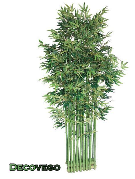 bambou plante arbre artificielle brise vue 200cm avec bois v 233 ritable decovego ebay