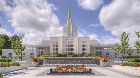 Idaho Falls Idaho Mormon Temple Open House, Rededication