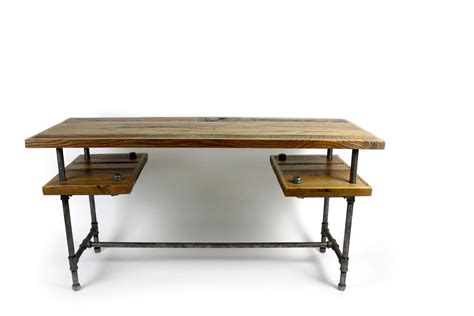 Custom 'galvy' Industrial Desk  Reclaimed Wood Table By. Nursery End Table. Wardrobe Closet With Drawers. Funny Desk Pranks. Lockable Computer Desk. Open Desk Cc. Kids Craft Desk. Kindergarten School Desk. Executive Office Desk