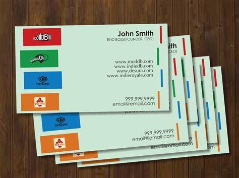 Playful, Modern Business Card Design Design For David