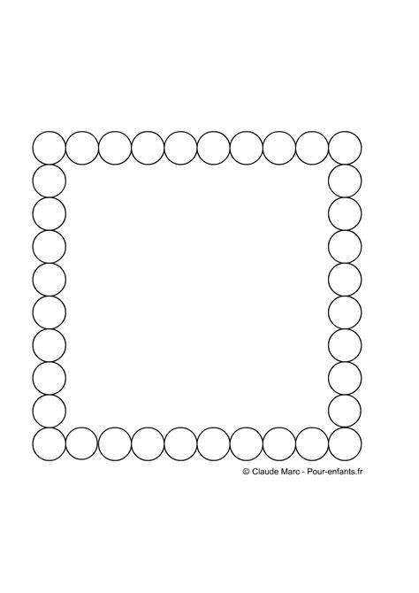 frise maternelle a imprimer gratuitement fiches enfants cadre cercles jeux frises geometriques