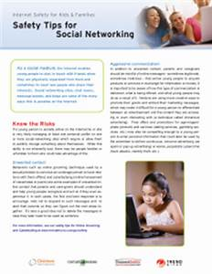 Social Networking Internet Safety Tips - PTO Today