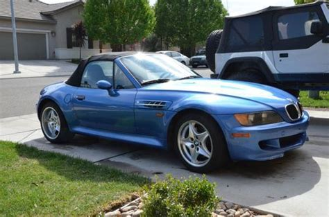 Find Used 1998 Bmw Z3 M Roadster Convertible 2-door 3.2l