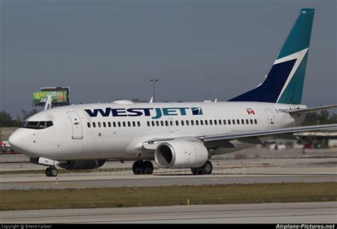 C-FWAQ - WestJet Airlines Boeing 737-700 at Fort Lauderdale - Hollywood Intl | Photo ID 121576 ...