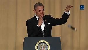 Obama's Comedy Routine 'Kills' at White House ...