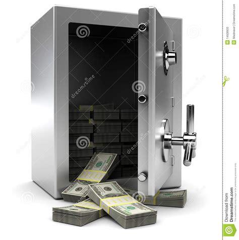 coffre fort avec de l argent photos stock image 14928933