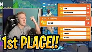 Tfue Reacts to WINNING (1st Place) $10M Fall Skirmish ...