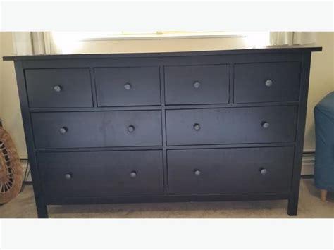 Ikea Hemnes 8-drawer Dresser (black-brown) Victoria City, Victoria
