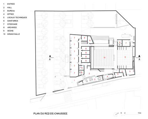 mantes la ville construction d une maison des associations rue camelinat lam architectes